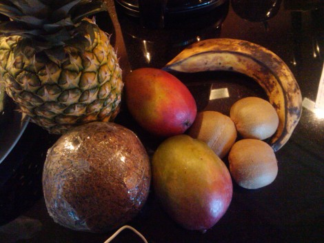 Fresh Fruit From The Tropics